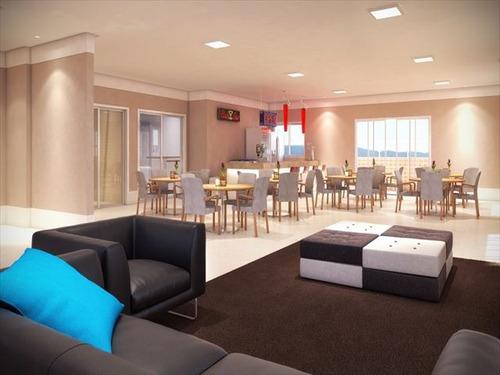 ref.: 2839 - apartamento em praia grande, no bairro canto do forte - 2 dormitórios