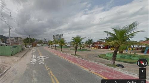 ref.: 28400 - terreno em mongaguá, no bairro centro