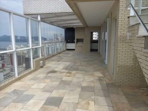 ref.: 284600 - apartamento em santos, no bairro pompeia - 3 dormitórios