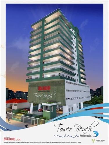 ref.: 2850 - apartamento em praia grande, no bairro aviacao - 2 dormitórios