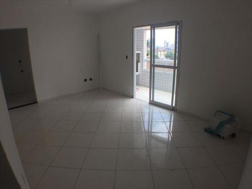 ref.: 2858 - apartamento em praia grande, no bairro guilhermina - 2 dormitórios