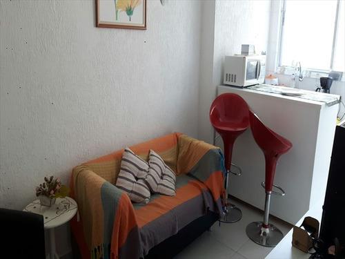 ref.: 287300 - apartamento em santos, no bairro aparecida - 1 dormitórios
