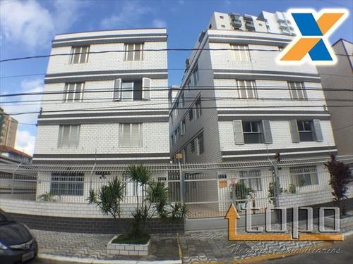 ref.: 2875 - apartamento em praia grande, no bairro guilhermina - 1 dormitórios