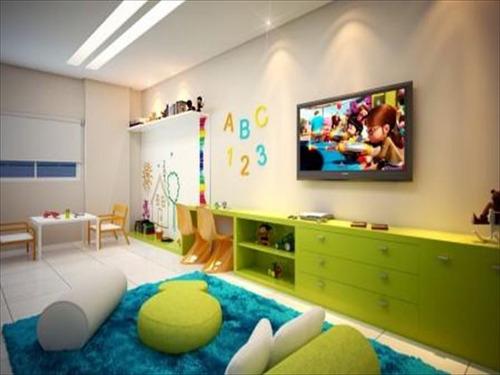 ref.: 2876 - apartamento em praia grande, no bairro aviação - 2 dormitórios