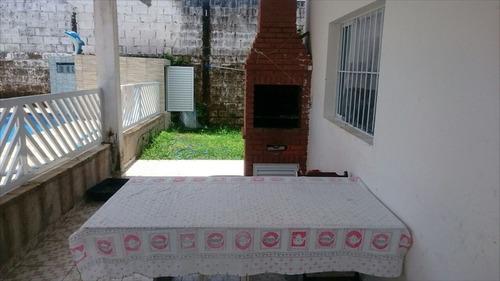 ref.: 28800 - casa em itanhaém, no bairro chacará cibratel - 3 dormitórios