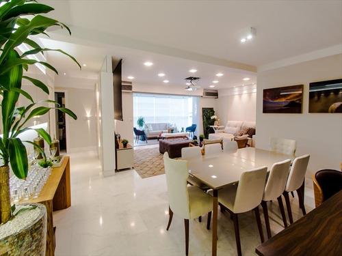 ref.: 288600 - apartamento em santos, no bairro gonzaga - 3 dormitórios
