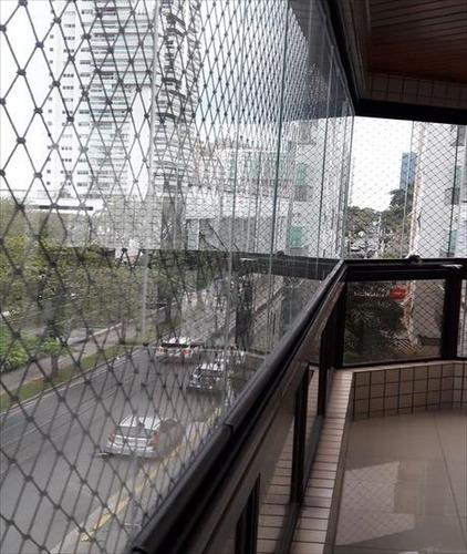 ref.: 288900 - apartamento em santos, no bairro aparecida - 3 dormitórios