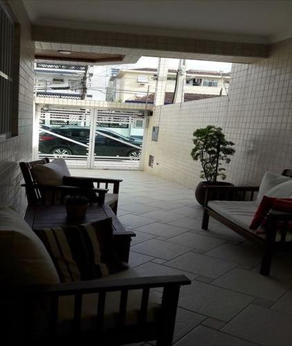 ref.: 289000 - casa em santos, no bairro embare - 3 dormitórios