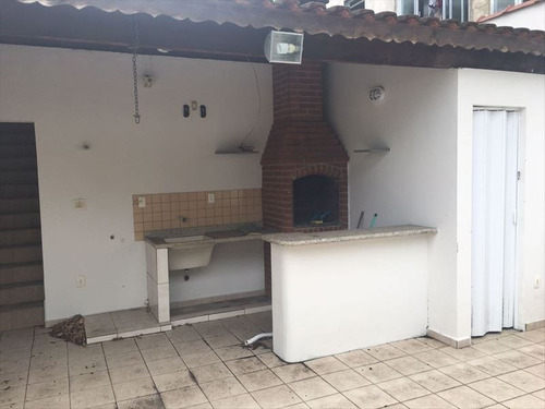 ref.: 289200 - casa em santos, no bairro macuco - 3 dormitórios