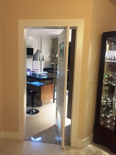 ref.: 289300 - apartamento em santos, no bairro embare - 3 dormitórios