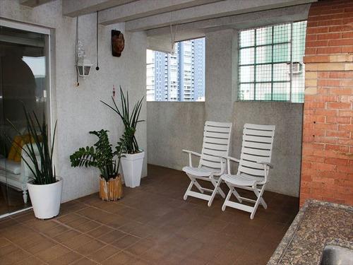 ref.: 289700 - apartamento em santos, no bairro aparecida - 3 dormitórios