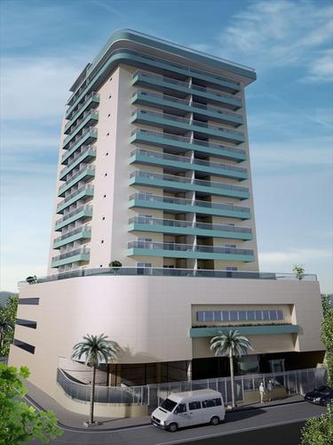 ref.: 2900 - apartamento em praia grande, no bairro boqueirao - 2 dormitórios