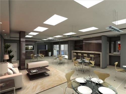 ref.: 2911 - apartamento em praia grande, no bairro guilhermina - 2 dormitórios