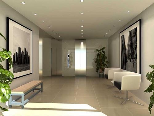 ref.: 2912 - apartamento em praia grande, no bairro guilhermina - 2 dormitórios