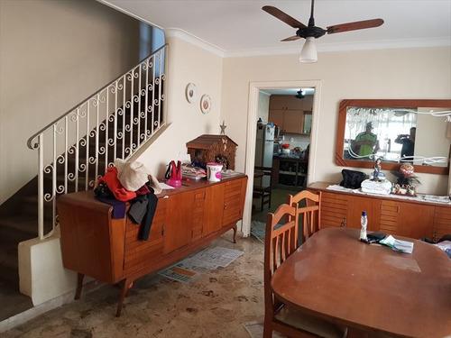 ref.: 291600 - casa em santos, no bairro embare - 3 dormitórios