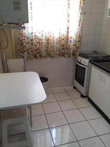 ref.: 2917 - apartamento em praia grande, no bairro guilhermina - 1 dormitórios