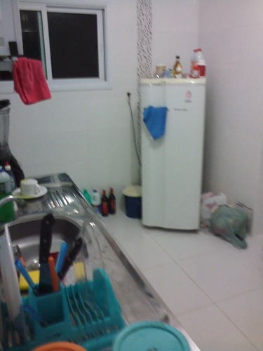ref.: 2918 - apartamento em praia grande, no bairro caicara - 1 dormitórios
