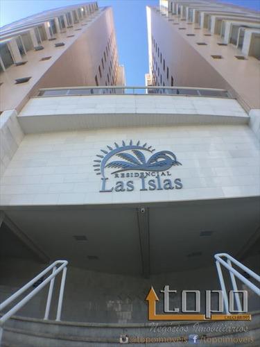ref.: 2923 - apartamento em praia grande, no bairro canto do forte - 3 dormitórios