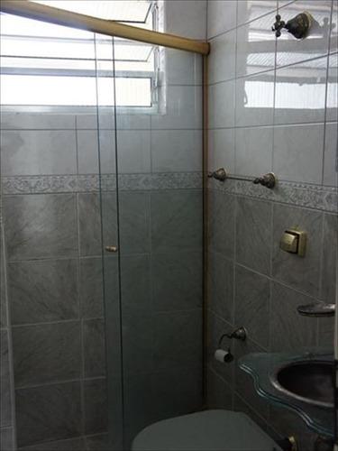 ref.: 292400 - apartamento em santos, no bairro boqueirao - 2 dormitórios