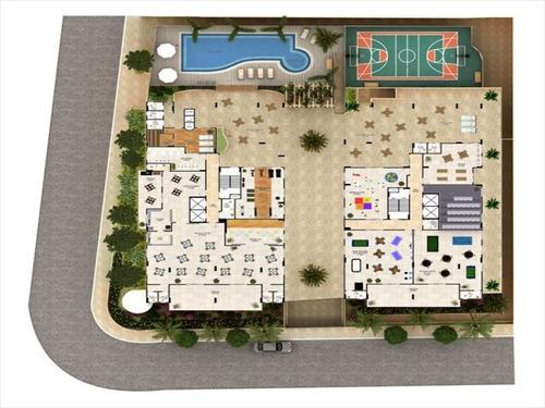 ref.: 2927 - apartamento em praia grande, no bairro canto do forte - 2 dormitórios