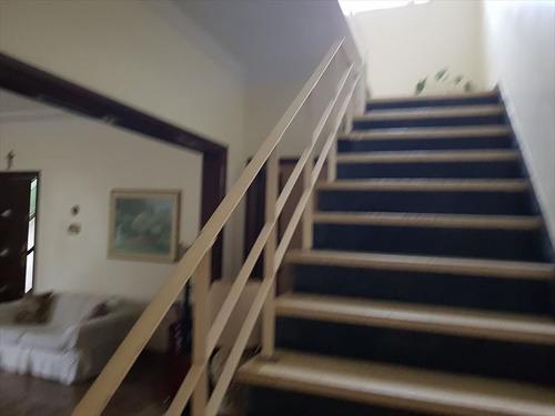 ref.: 293100 - casa em santos, no bairro gonzaga - 3 dormitórios