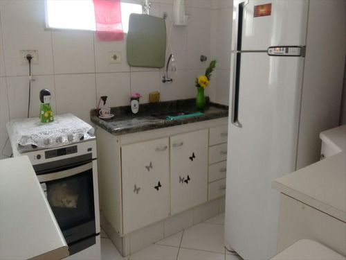 ref.: 293200 - apartamento em santos, no bairro boqueirao - 2 dormitórios