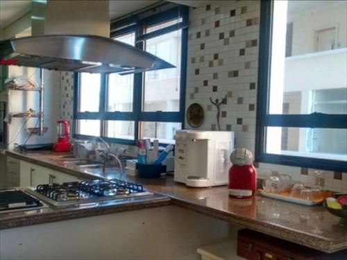 ref.: 293600 - apartamento em santos, no bairro aparecida - 4 dormitórios