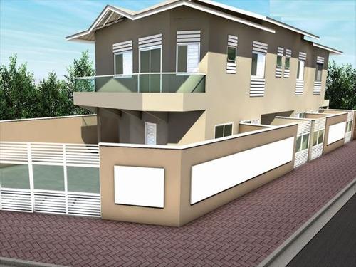 ref.: 2942 - casa em praia grande, no bairro maracana - 2 dormitórios