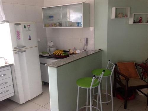 ref.: 2946 - apartamento em praia grande, no bairro guilhermina - 2 dormitórios