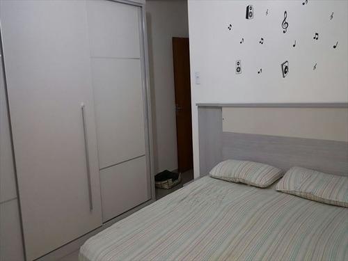ref.: 2951 - casa em praia grande, no bairro guilhermina - 2 dormitórios