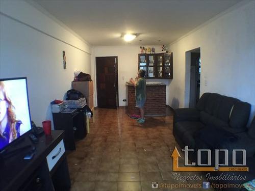 ref.: 2995 - apartamento em praia grande, no bairro guilhermina - 2 dormitórios