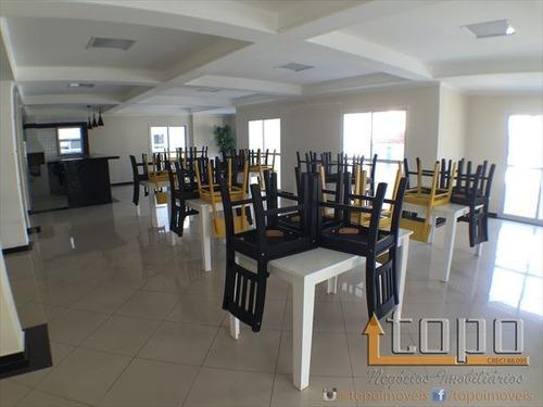ref.: 3002 - apartamento em praia grande, no bairro guilhermina - 3 dormitórios