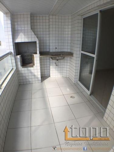 ref.: 3006 - apartamento em praia grande, no bairro guilhermina - 2 dormitórios