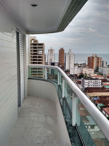 ref.: 3008 - apartamento em praia grande, no bairro ocian - 2 dormitórios