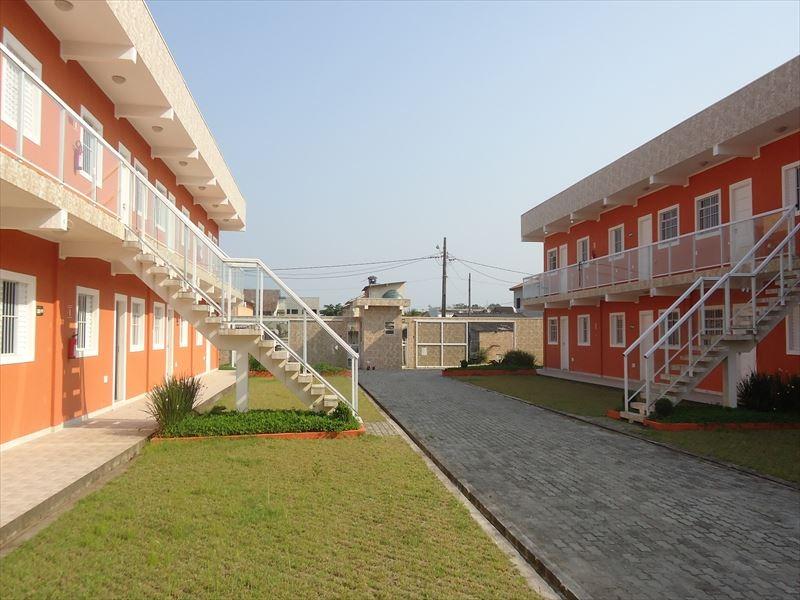 ref.: 301 - casa condomínio fechado em bertioga, no bairro vista linda - 2 dormitórios