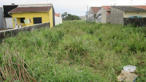 ref.: 301 - terreno em itanhaém, no bairro bopiranga