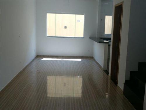 ref.: 3013 - casa em praia grande, no bairro guilhermina - 3 dormitórios