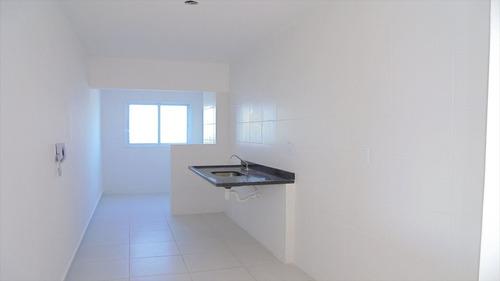 ref.: 302104 - apartamento em mongagua, no bairro vera cruz - 2 dormitórios