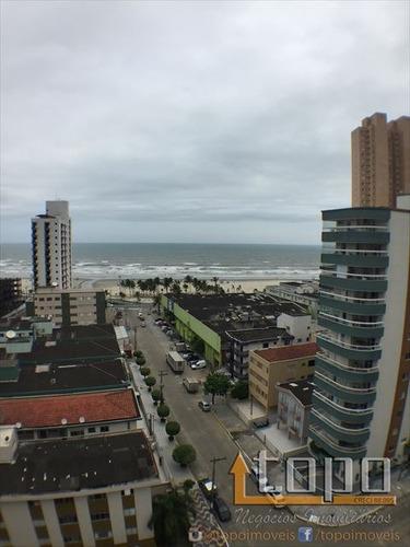 ref.: 3024 - apartamento em praia grande, no bairro guilhermina - 2 dormitórios