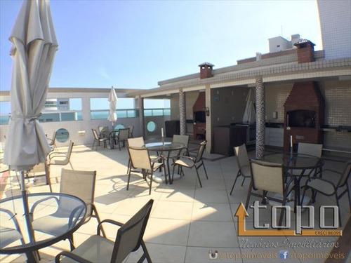 ref.: 3028 - apartamento em praia grande, no bairro canto do forte - 3 dormitórios
