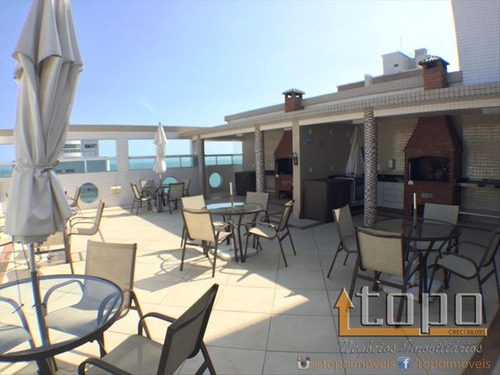 ref.: 3032 - apartamento em praia grande, no bairro canto do forte - 3 dormitórios