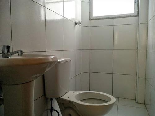 ref.: 3046 - casa condomínio fechado em praia grande, no bairro guilhermina - 2 dormitórios