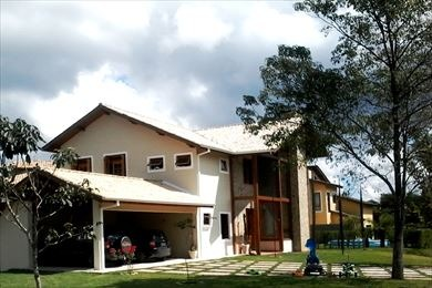 ref.: 3062 - casa condomínio fechado em embu das artes, no bairro parque das artes - 4 dormitórios