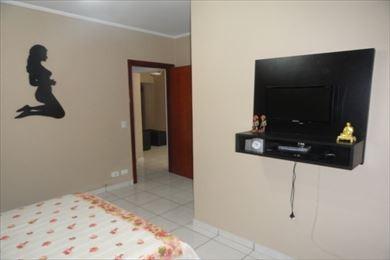 ref.: 3069 - apartamento em praia grande, no bairro guilhermina - 2 dormitórios