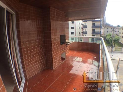 ref.: 3072 - apartamento em praia grande, no bairro guilhermina - 2 dormitórios