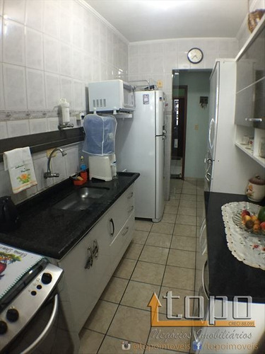 ref.: 3073 - apartamento em praia grande, no bairro guilhermina - 2 dormitórios