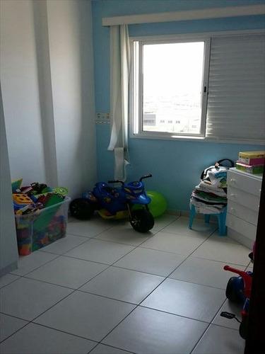 ref.: 3075 - apartamento em praia grande, no bairro guilhermina - 2 dormitórios