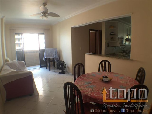 ref.: 3080 - apartamento em praia grande, no bairro canto do forte - 1 dormitórios