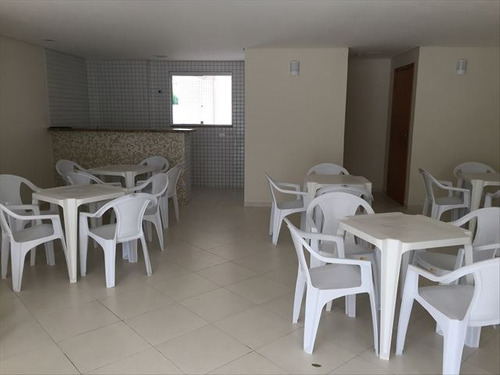 ref.: 3081 - apartamento em praia grande, no bairro guilhermina - 2 dormitórios
