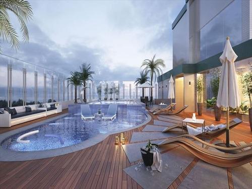 ref.: 3085 - apartamento em praia grande, no bairro canto do forte - 2 dormitórios